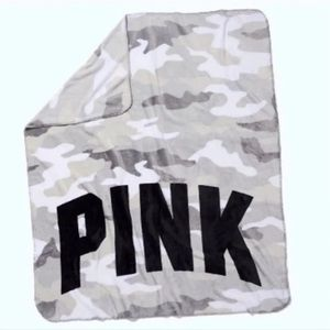 VS PINK Camp blanket throw